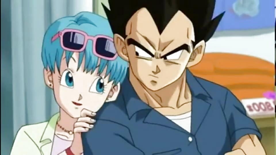 Dragon Ball X vegeta y bulma love