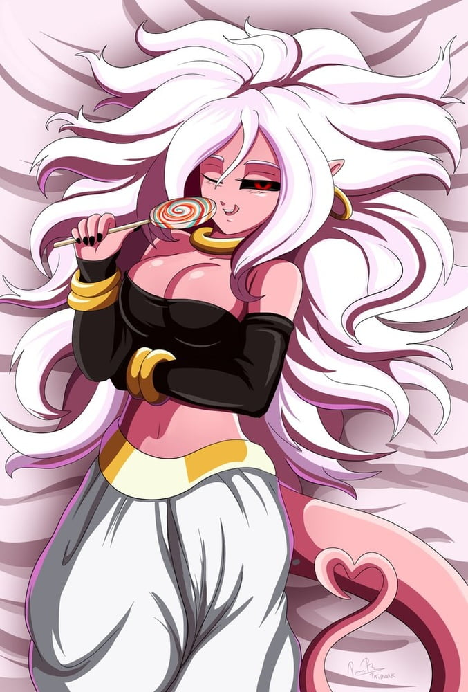 My wife Android 21 from Dragon Ball